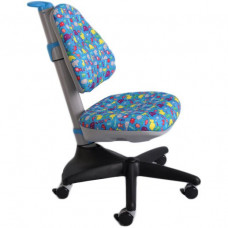 Детское кресло Mealux Conan Y-317 BB Синий с жучками (Y-317 BB)
