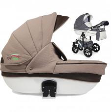 Универсальная коляска 3 в 1 Verdi Pepe Eco Plus Dynamic 82 Beige/Brown