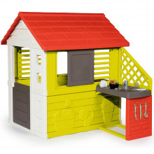 Игровой домик с кухней Smoby Nature (810702)
