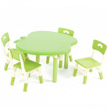 Столик со стульчиками Bambi B0103-5 Зеленый