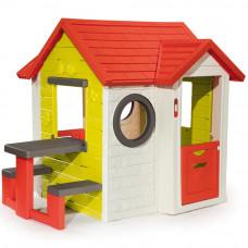 Игровой домик Smoby My House & Pic-Nic Table (810401)