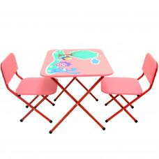 Стол с двумя стульчиками OMMI Смешарик New Голубой