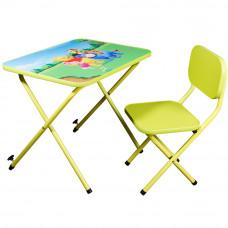Детская парта со стульчиком Ommi Винни Лайм