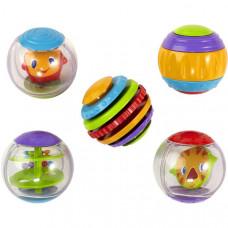 Развивающая игрушка Bright Starts Мячики Крути-верти (9079)