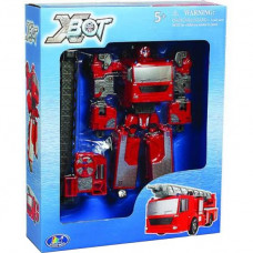 Робот-трансформер X-bot Пожарная машина (80040R)