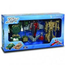 Игровой набор X-bot Роботы-трансформеры (15 см) (82040R)