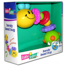 Развивающая игрушка BabyBaby Изгибающаяся гусеница (2544)